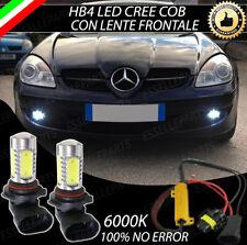COPPIA LAMPADE FENDINEBBIA HB4 LED CREE COB CANBUS MERCEDES SLK R171 NO ERROR