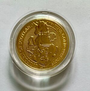 The Queen's Beasts 2018 The Unicorn 1 oz Gold Bullion Coin (24 Carat)