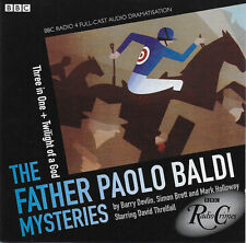 Father Paolo Baldi Mysteries THREE IN ONE & TWILIGHT OF A GOD Full Cast Audio