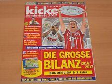 Kicker Sonderheft 2017 + Kalender für die nächste Saison NEUWERTIG!