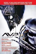 Avp - Alien Vs. Predator - Very Scarce Hardcover Edition w/Dustjacket 2004