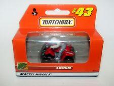 Matchbox Superfast No 43 4-Wheeler MIB Orange Box