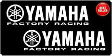 YAMAHA Factory Racing Belly Pan Vinyl Decals Stickers R1 R6 YZF 200 or 250mm