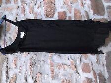 Magnifique Robe Max Mara NOIR LIN et SOIE Taille Fr 40 USA 12 It 46 RARE !!! TBE