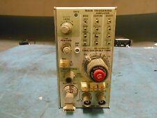 Tektronix 7b53a Dual Time Base Main Triggering Amplifier