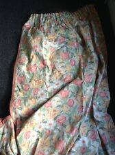 vintage tulip design laura ashley curtains 56 l X 38 w