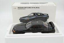 Autoart 1/18 Nissan Skyline GT-R R32 Plain Body Black