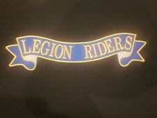 World of Legion Riders Embroidered ribbon patch see description (31)