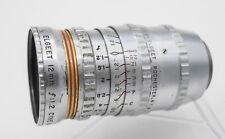 Elgeet Gold 12mm F1.2 Cine Navitar C Mount 16mm Movie Camera Lens - Bolex H16