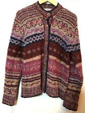North Style Women's Cardigan Sweater XL Mutli Color