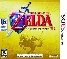 Brand New Sealed The Legend of Zelda: Ocarina of Time 3D (Nintendo 3DS, 2011)