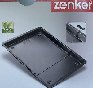 ZENKER ausziehbarer Backblech 37 - 52 cm universal Herdbackblech antihaftbeschic