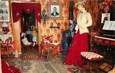 Virginia City Montana~Miladys Dress Shop~Organ with Stops 1950 Postcard