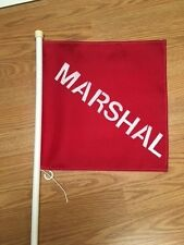Golf Course Marshal Flag for Golf Cart Using VELCRO® brand One Wrap