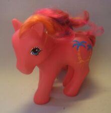 Vtg 80s Hasbro My little Pony Pina Colada - Lambada 1987 Tropical Ponies