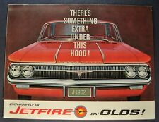 1962 Oldsmobile Jetfire Sales Brochure Folder Excellent Original 62