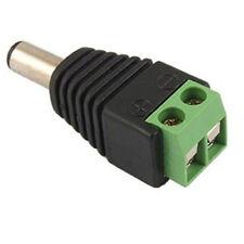 DC Power Jack Cable Conector Macho Cctv 12v Adaptador De Enchufe Para Cámaras De Cctv Dvr