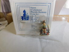 """Robert Olszewski's & Goebel Mini Co  """"Wayside Harmony"""" mini hummel"""