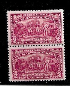 US Stamp-Scott # 644/A192-2c-MINT/NH-1927-(2)-Well Centered-Vivid Carmine