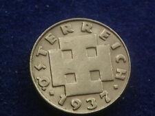 """5 Groschen 1937 Österreich  - """" Erhaltung """" selten  W/19/496"""