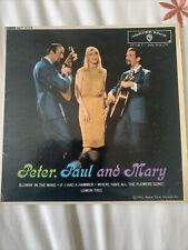 """Peter, Paul and Mary - 7"""" Vinyl EP WEP6114"""