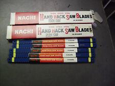 "FOUR HUNDRED !! Nachi  10"" x 1/2"" x 32 Tooth HSS  Hacksaw Blades"