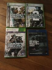Ghost Recon Advanced Warfighter 1 2 Future Soldier Xbox 360 One XB1 Clancy Alpha