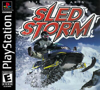 🔥 Sled Storm Playstation PS1  Complete CIB
