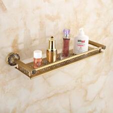 Bathroom Shelf Antique Brass 50cm Corner Rack Holder For Showeroom Shampoo