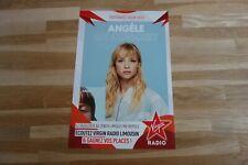 ANGELE - Publicité de magazine / Advert CONCERT VIRGIN !!!