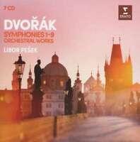 Libor Pesek - Dvorak: The 9 Symphonies & Orc NEW CD