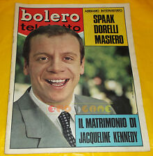 BOLERO FILM 1968 n. 1122 Johnny Dorelli, Emma Danieli Jacqueline Kennedy Onassis