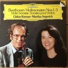 415 138-1 Beethoven Violin Sonatas 1-3 / Gidon Kremer / Martha Argerich
