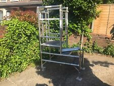 Podium Aluminium Work Platform Steps Scaffold Tower Scaffolding 1.2m