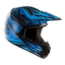 Cascos HJC color principal azul de motocicleta para conductores