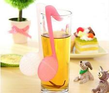 Music Note Fashion Convenience Tea Strainer Spoon Teaspoon Infuser Filter