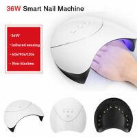 36W LED UV Gel de uñas Esmalte de curado Lámpara Secadora Manicura Art Machine