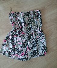 BNWT SIZE LARGE BRIGHT CAMOUFLAGE PATTERNED PLAYSUIT