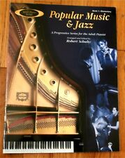 Popular Music & Jazz Progressive Series for the Adult Pianist Music Book