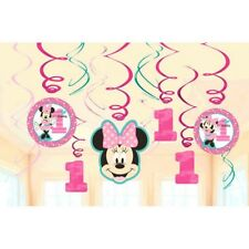 Minnie Mouse Fun to Be One Swirl Decoration Value Pack 1st Birthday Party