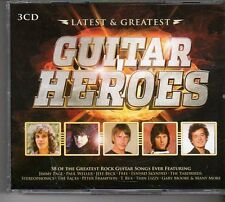 (FD474A) Latest & Greatest Guitar Heroes, 58 tracks various artists - 2013