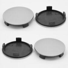 Alloy Wheel Center Caps Centre Universel jante en plastique 4x Hub Cap 51.5-56 sans logo