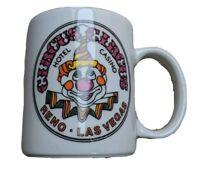 Vintage Circus Circus Hotel Casino - Tea Coffee Mug - Clown Face Reno Las Vegas