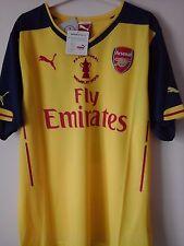 Arsenal Alexis 17 FA cup final 2015 football Shirt BNWT in bag