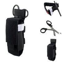 Tactical Outdoor First Aid Kit Set One Hand TQ Trauma Shear Molle Pouch Bag
