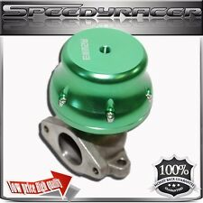 EMUSA 38mm External Wastegate  w/ Adjustable Springs Anodized GREEN Finish!