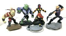 Disney Infinity 2.0 Black Widow Nova Green Goblin Hawkeye & Drax Figure Lot of 5