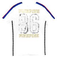 VICTORIA/'S SECRET PINK MIAMI GIRLS PARTY SEQUIN BLING TSHIRT TOP TEE S!