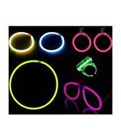 20pcs néon lumineux fluorescent fête mariage anniversaire glow in the dark party