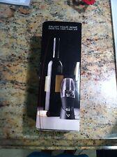 Vinturi Red Wine Aerator Essential and Velvet Drip-Stop Ring By Metrokane